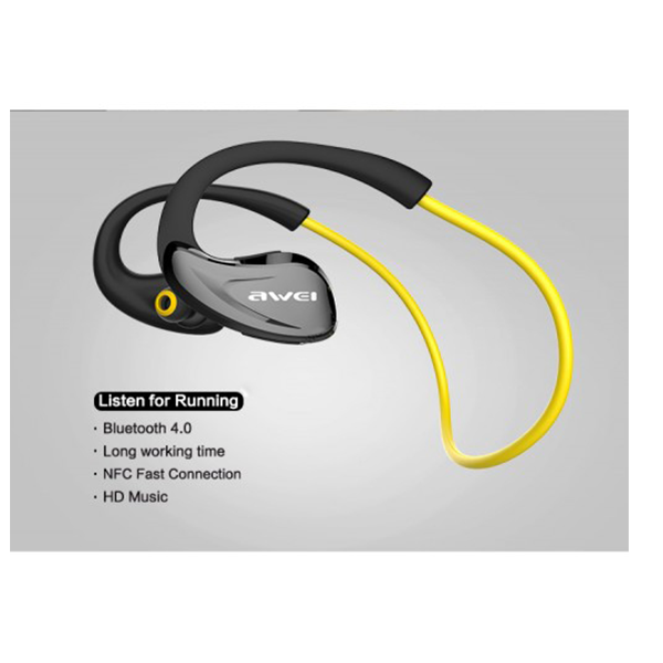 Awei A880BL Wireless Sports Stereo Headphone 6