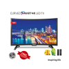 Linnex 55 Inch Smart Android Curved LED TV-Black 3373