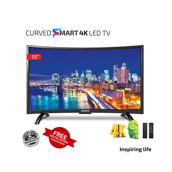 linnex 55 inch curved tv 1