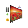 Linnex 55 Inch Smart Android Curved LED TV-Black