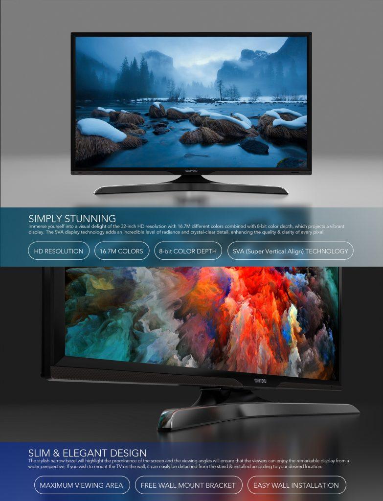 Walton led TV WD1-JX32-SY250 10