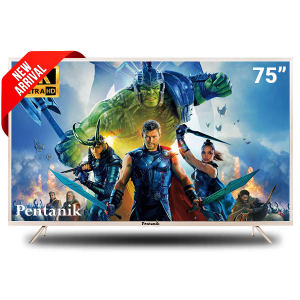 Pentanik 75 Inch Smart LED TV