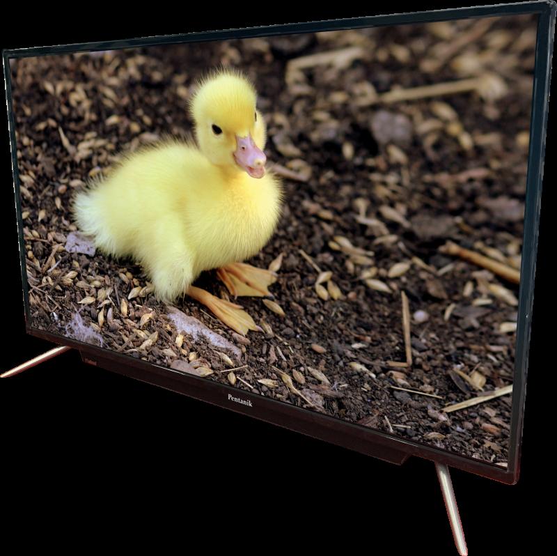 Pentanik 43 inch Smart Android TV with Soundbar 7