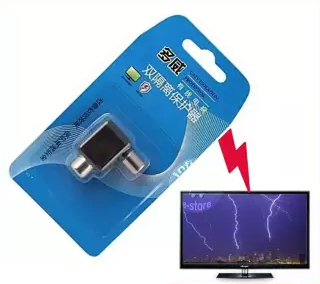 Thunder Protector For LED/TV & CATV Isolation Protectors 6