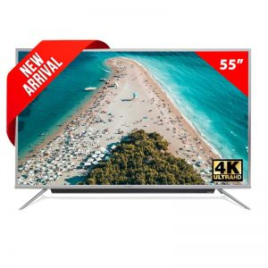 Pentanik 55 inch Smart Android 4K TV with Soundbar (2020)
