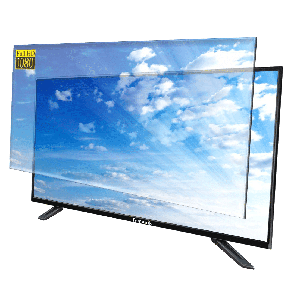 double glass led tv