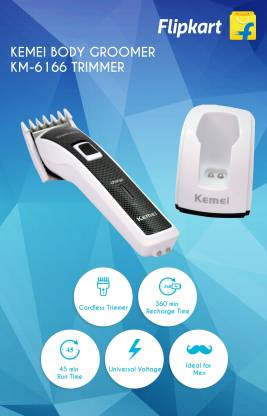 kemei washable body groomer km 6166 original imaec5tghvsdvt2m