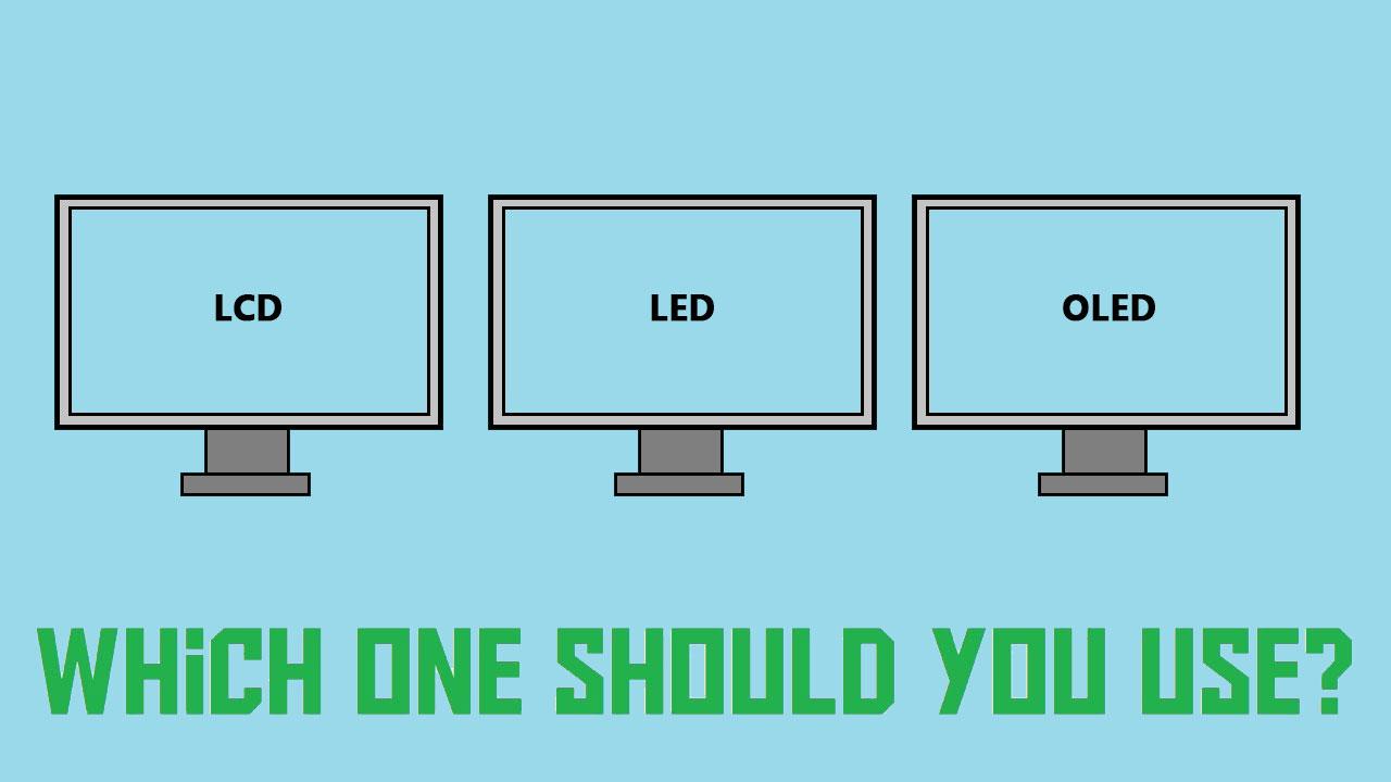 YouTube LCD vs LED vs OLED screens