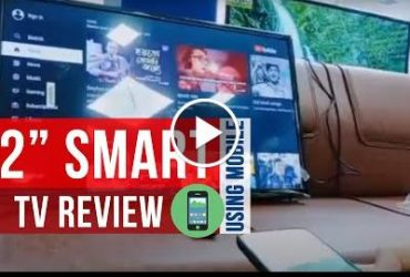 32 in smart tv review - Pentanik  32 inch smart tv review | By Using Mobile Remote - Thumbnail